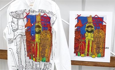 How A Japanese Company Can Print Masterpieces on Apparel