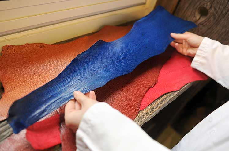 Leather Suffers Despite Trend Towards Natural Fibers