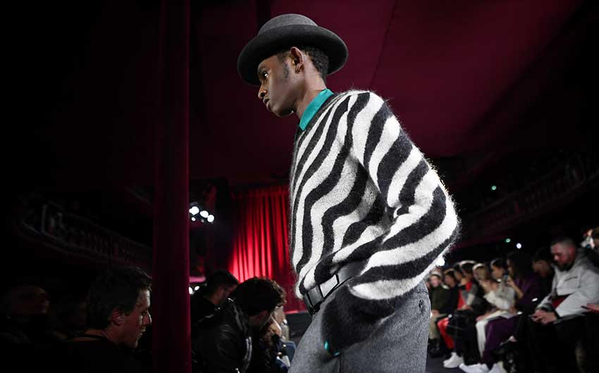 EU Menswear Catwalks:  A Season of Smart Knits